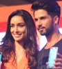 Shahid Kapoor,Shraddha Kapoor Launch Club Samsung Photo Gallery