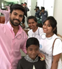 Ram Charan Fulfills Ailing Kid's Last Wish Photo Gallery