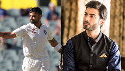 Fawad Khan To Step in Virat Kohli's Shoes For Dhonis's Biopic