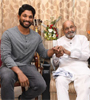 Allu Arjun Meets K Viswanath Photo Gallery