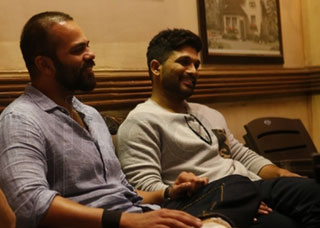 Allu Arjun With Golmal Team In Mumbai Photo Gallery