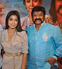 Balakrishna and Shriya Interview Photo Gallery