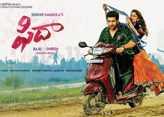 Fidaa Movie USA Schedule
