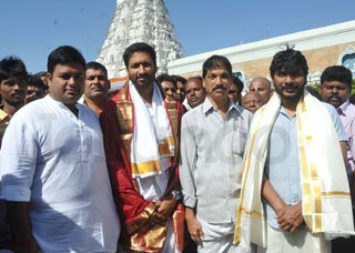 Gautham Nanda Team at Tirumala Photo Gallery