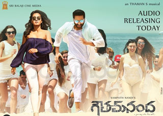 Gautham Nanda Movie Poster Designs