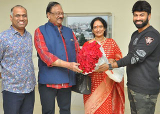Krishnam Raju Family Watched it Raju Gari Gadhi 2 Movie Photo Gallery