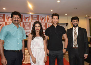 Manali Rathod with Save The Liver Foundation Photo Gallery