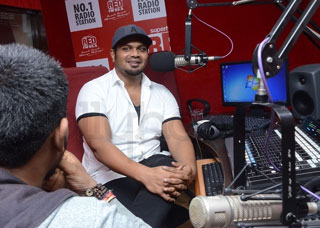 Manchu Manoj At Red FM Photo Gallery