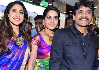 Nagarjuna Launches South India Shopping Mall Photo Gallery