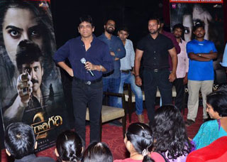 Nagarjuna at Special Screening Show Raju Gari Gadhi 2 Photo Gallery