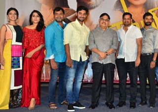 Next Nuvve Movie Trailer Launch Photo Gallery