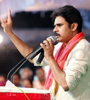Pawan Kalyan at Cheneta Garjana Photo Gallery