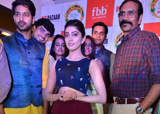 Pranitha Launches Big Bazaar Dussara Collections 2017 Photo Gallery