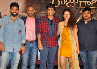 Raju Gari Gadhi 2  Movie Trailer Launch Photo Gallery