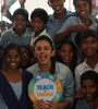 Rakul Preet Singh at a school event for social cause Photo Gallery