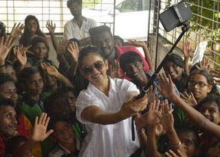 Rakul Birthday Celebrations at Cherish Orphanage Home Photo Gallery