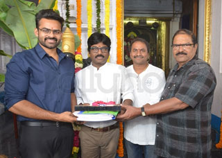 Sai Dharam tej-Karunakaran Movie Opening Photo Gallery