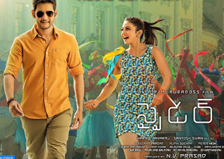 Spyder Movie USA Schedules