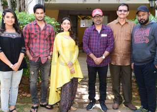 Sudheer Babu New Movie Opening Photo Gallery