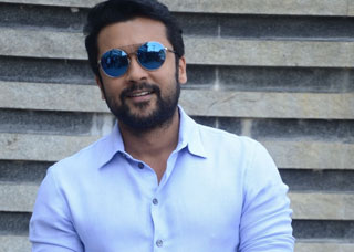 Surya Interview Photo Gallery