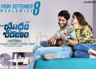 Yuddham Sharanam Movie USA Schedule