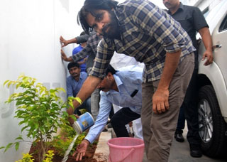 Pawan Kalyan Accepts Haritha Haram Challenge Photo Gallery