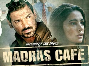 Madras Cafe Movie Poster Designs