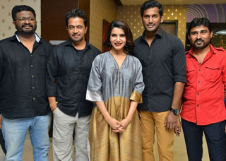 Abhimanyudu Movie Press Meet Photo Gallery
