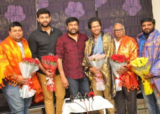 Chiranjeevi Press Meet About Tholiprema Photo Gallery