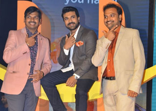 Happi Mobiles Brand Ambassador Ram Charan Photo Gallery