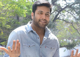 Jayam Ravi Interview Photo Gallery