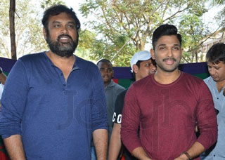 Naa Peru Surya Movie Press Meet Photo Gallery