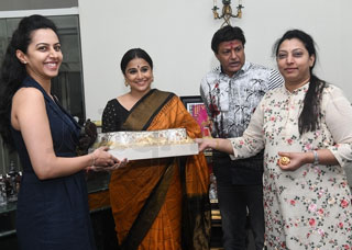 Nandamuri Family Welcomes Vidya Balan Photo Gallery