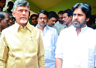 Pawan Kalyan and Chandrababu to attend temple inauguration in Guntur