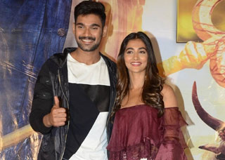 Saakshyam Movie Press Meet Photo Gallery