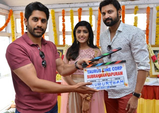 Subramanyapuram Movie Opening Photo Gallery