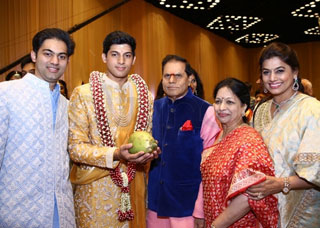 T Subbarami Reddy Grandson Anirudh Wedding Photo Gallery