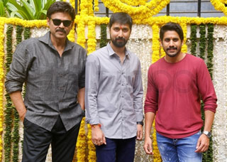 Venkatesh And Naga Chaitanya Movie Opening Photo Gallery